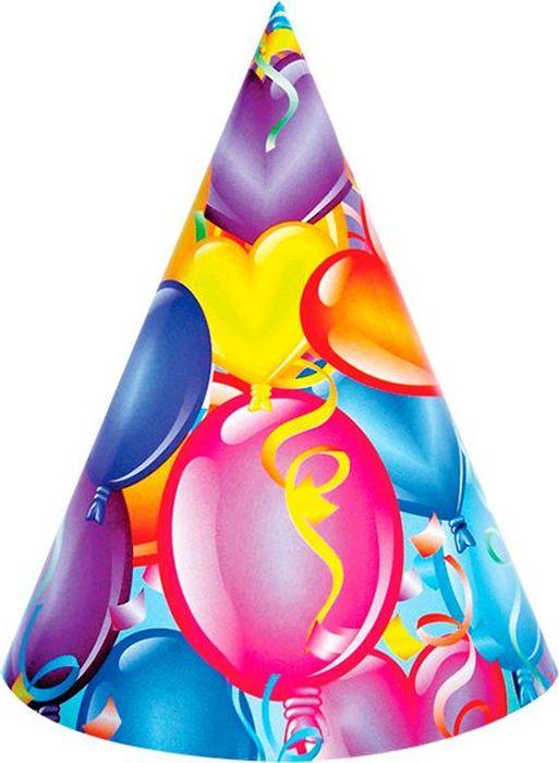 Пати Бум Колпак Праздничное настроение 6 шт веселый праздник набор колпаков лунтик 6 шт