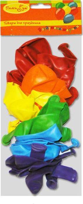 Шарик воздушный Радужное 50 шт108701Воздушные шарики насыщенных цветов радуги Радужное украсят интерьер к праздничному событию и создадут праздничное и веселое настроение. Воздушные шары неизменно ассоциируются с праздником - тем временем, когда от всего, что происходит вокруг, захватывает дыхание! Наполните их воздухом или гелием, разбросайте по полу или отпустите под потолок, соберите в фонтаны или создайте воздушные фигуры. Фантазируйте, и помещение наполнится неповторимыми красками! Вы удивитесь, какой восторг могут вызвать разноцветные шарики.