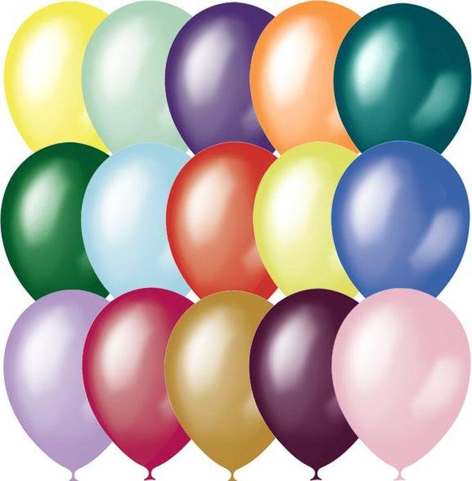 Latex Occidental Набор воздушных шариков Металлик и перламутр 50 шт latex occidental набор воздушных шариков металлик и перламутр 50 шт