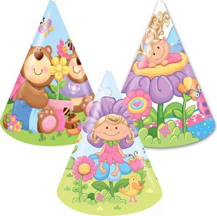 Пати Бум Колпак Детская коллекция 6 шт веселый праздник набор колпаков лунтик 6 шт