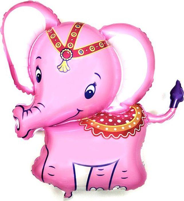 Флексметал Шарик воздушный Слоненок цвет розовый флексметал шарик воздушный малышка