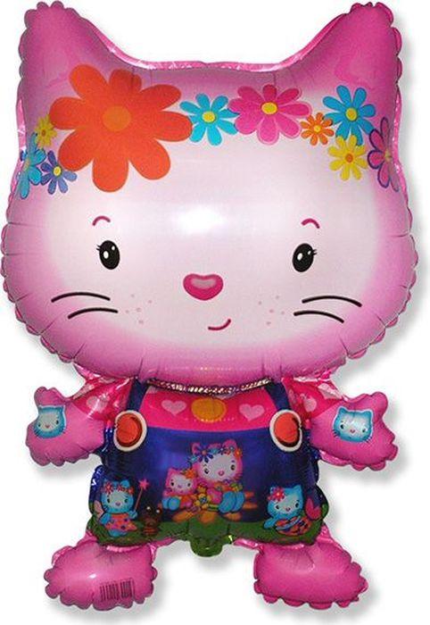 Флексметал Шарик воздушный Котенок Китти цветы флексметал шарик воздушный малышка