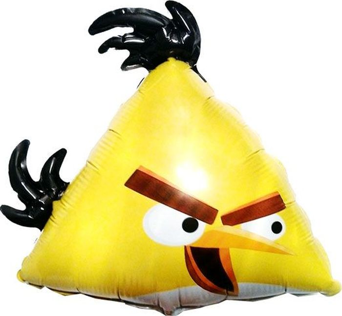 Флексметал Шарик воздушный Angry Birds Желтая птица флексметал шарик воздушный малышка