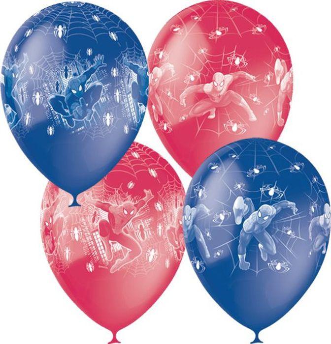 Шарик воздушный Человек-Паук 25 шт6037710Надувные шарики Человек-Паук украсят интерьер к праздничному событию и создадут праздничное и веселое настроение.Воздушные шарики помогут украсить место вашего праздника. Эти яркие праздничные аксессуары поднимут настроение вам и вашим гостям!