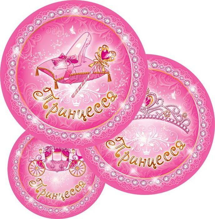 Пати Бум Набор тарелок Моя Принцесса 6 шт
