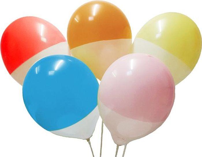 Latex Occidental Набор воздушных шариков Пастель цвет Bicolor 25 шт latex occidental набор воздушных шариков металлик цвет gold 025 100 шт