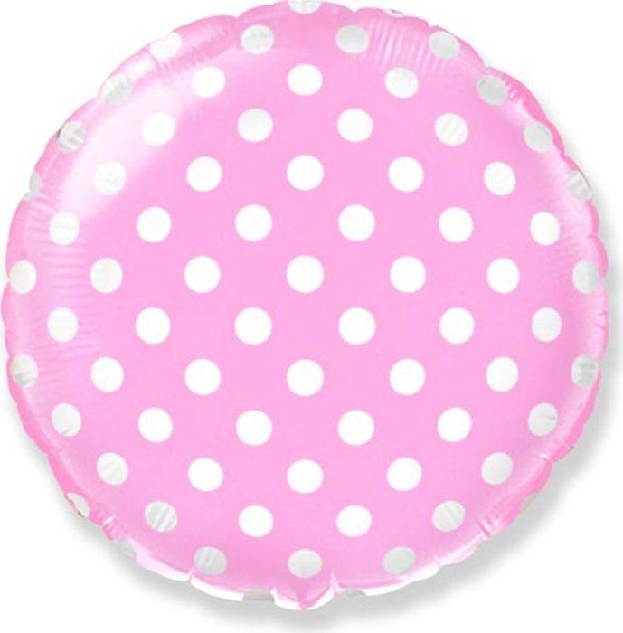 Флексметал Шарик воздушный Горошек цвет розовый флексметал шарик воздушный малышка
