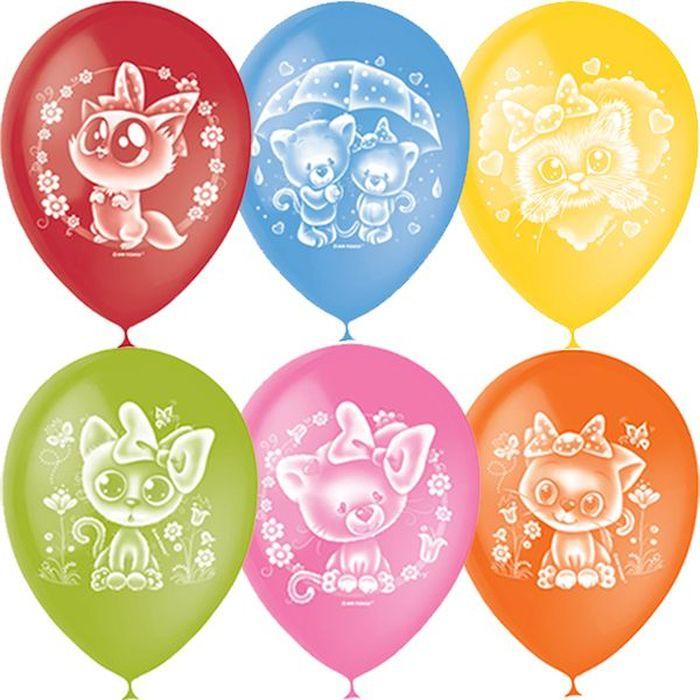 Шарик воздушный Пастель Декоратор Мур-мяу 50 шт шарик воздушный декоратор transparent 057 100 шт
