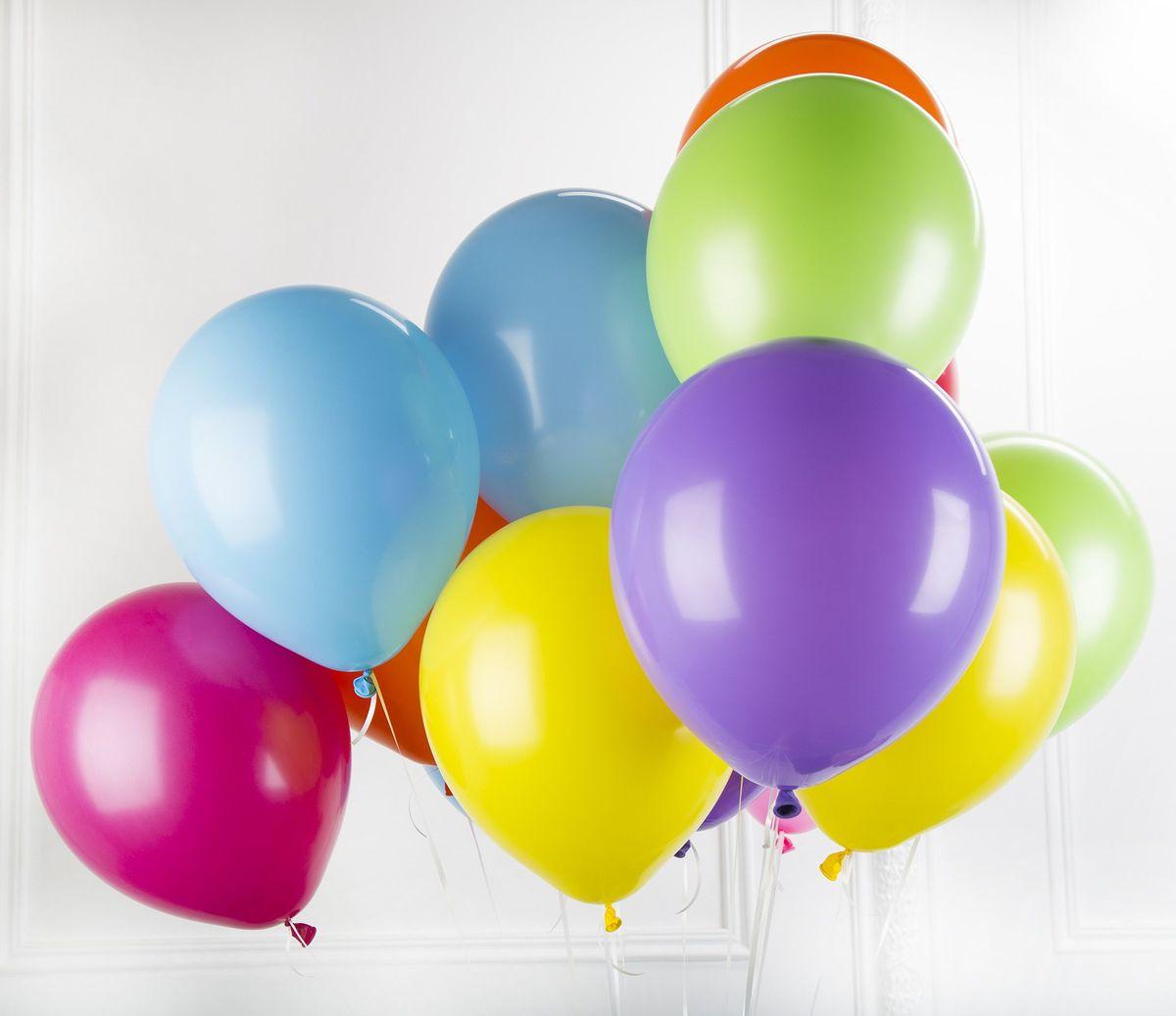 Воздушные шары фото картинки, открытка