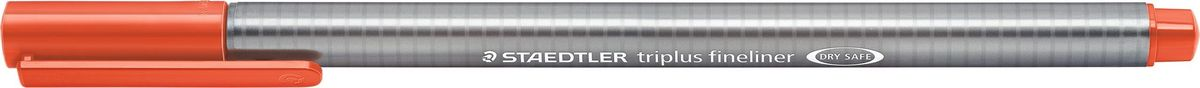 Staedtler Ручка капиллярная Triplus 334 0,3 мм цвет чернил алый 334-24 цена и фото