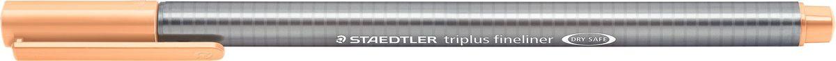 Staedtler Ручка капиллярная Triplus 334 0,3 мм цвет чернил персиковый цена и фото