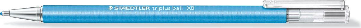 Staedtler Ручка шариковая Triplus Ball 0,7 мм цвет чернил голубой шариковая ручка triplus ball черная 0 3 f