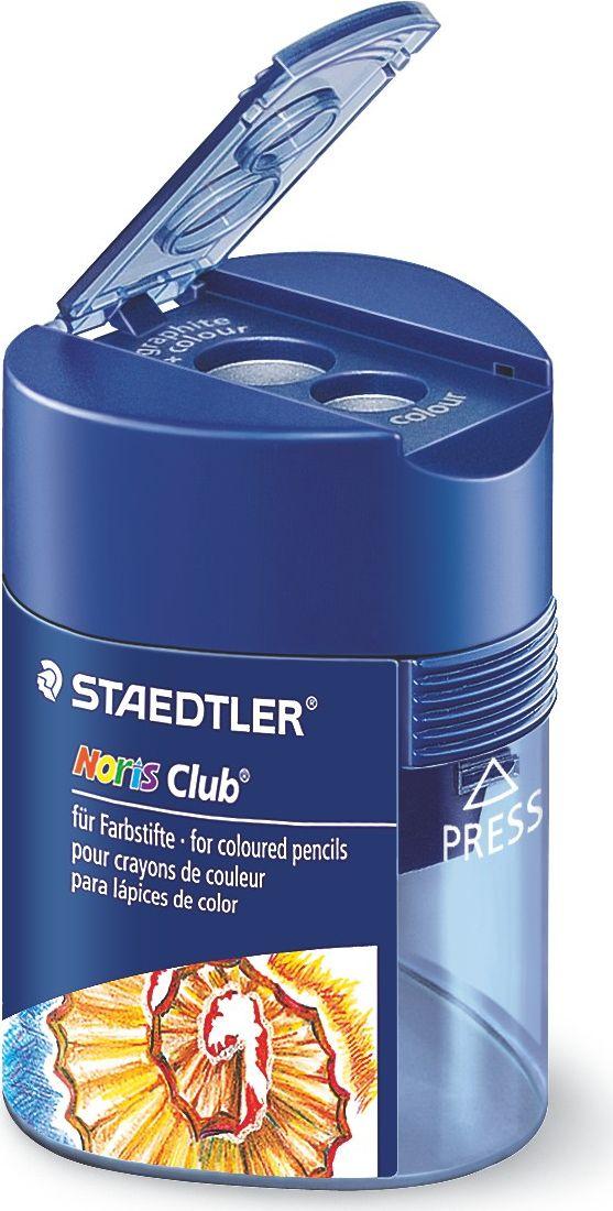 Staedtler Точилка Noris 2 гнезда цвет синий