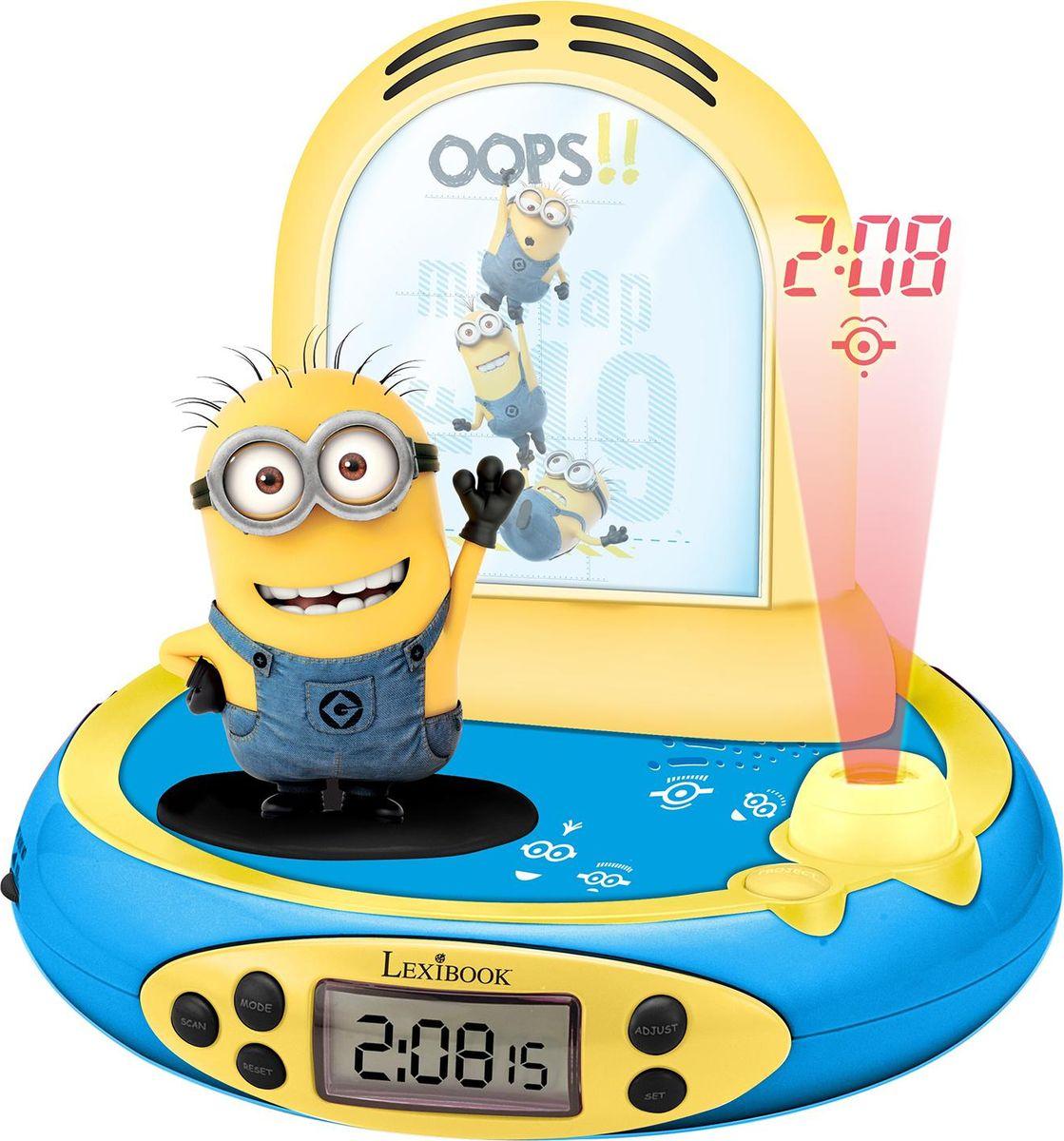 цена на Lexibook Часы-будильник-проектор Миньоны