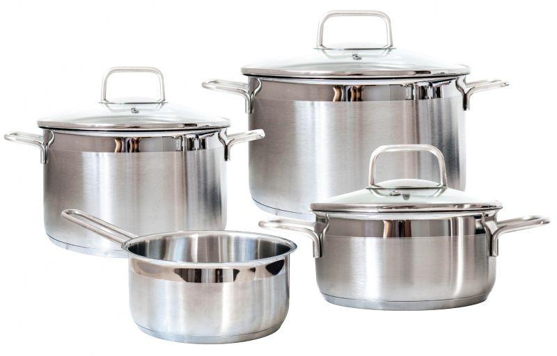 Набор посуды для приготовления Swiss Diamond SD PS SET L4, Нержавеющая сталь цены