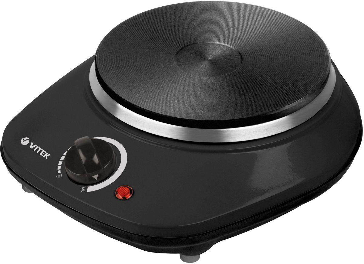 Настольная плита Vitek VT-3701(BK), Black настольная плита vitek vt 3701 bk