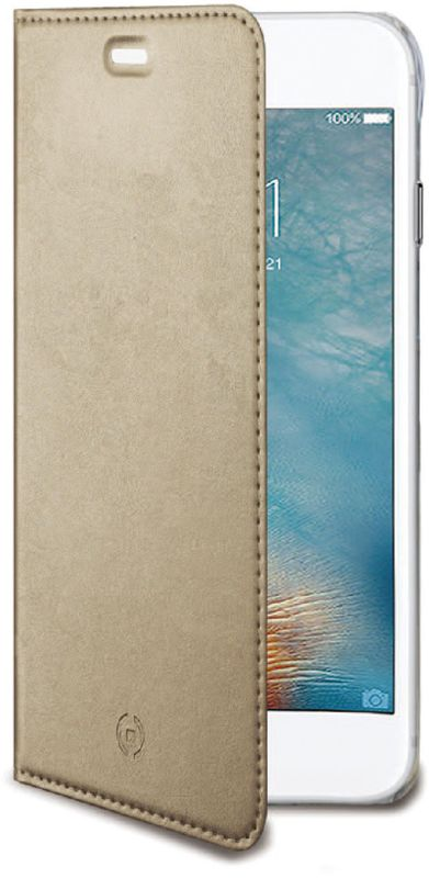 Celly Air Case чехол для Samsung Galaxy J5 (2017), Gold чехол книжка celly air case для samsung galaxy j5 2017 с отделением для кредитных карт черный