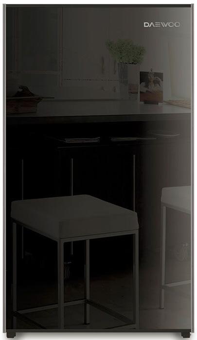 Холодильник Daewoo FN-15B2B, черный холодильник daewoo fn 15ir