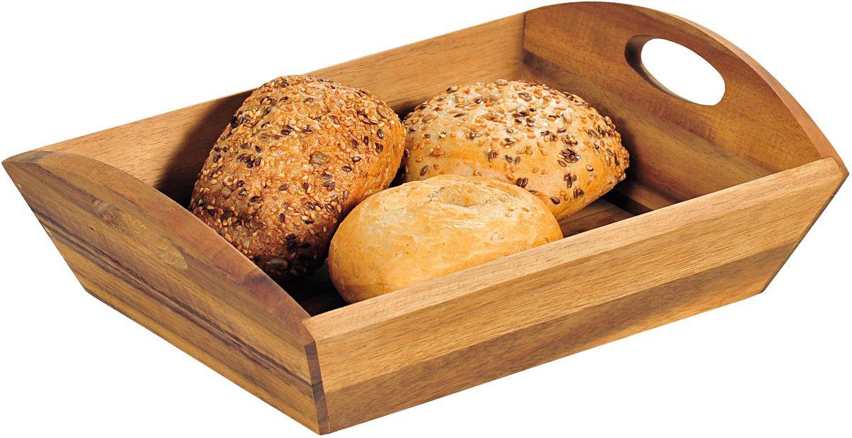 Хлебница Kesper, с ручками, 31,5 х 23 х 9 см корзина kesper 29 х 23 х 8 см