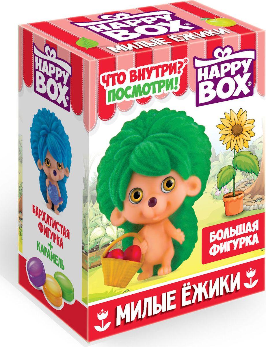 Сладкая Сказка Happy Box Милые ежики карамель с игрушкой, 18 г леденцы с игрушкой happy box три кота 18 г