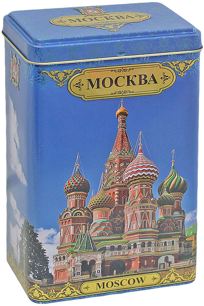 Избранное из моря чая Коллекция города России - Москва Собор Василия Блаженного чай черный листовой, 75 г полынь настойка 25мл