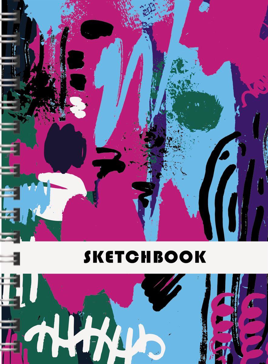 Канц-Эксмо Скетчбук Сила цвета 80 листов формат А4 канц эксмо скетчбук творческая мастерская 80 листов формат а5