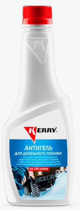 Антигель для дизельного топлива KERRY, суперконцентрат на 140 л, 355 мл. KR-356 антигель для дизельного топлива eltrans суперконцентрат на 120 240 л 340 мл