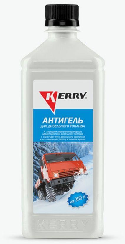 Антигель для дизельного топлива KERRY, суперконцентрат на 300 л, 600 мл. KR-357 антигель для дизельного топлива eltrans суперконцентрат на 120 240 л 340 мл