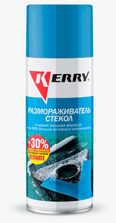 цена на Размораживатель стекол и замков KERRY, 520 мл. KR-986