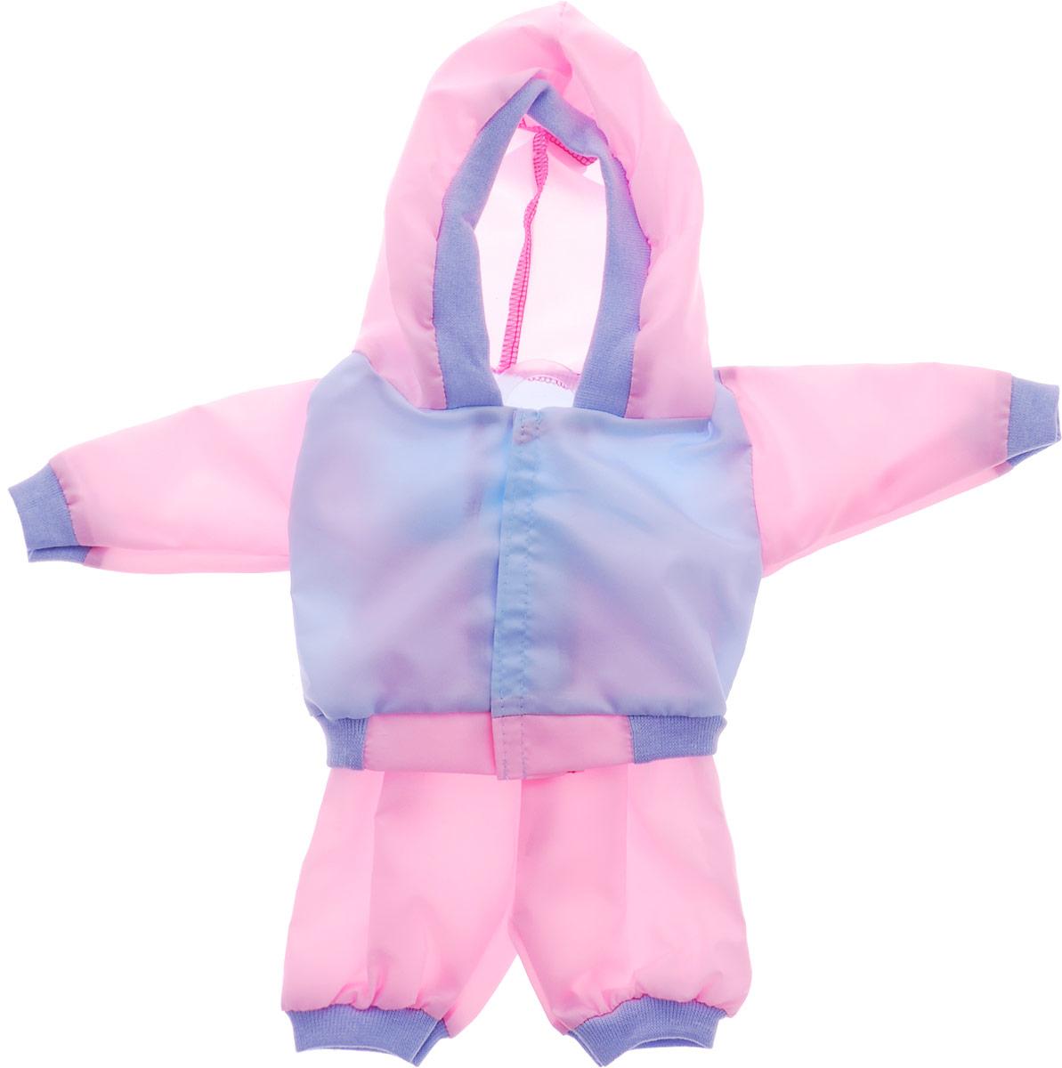 Mary Poppins Одежда для кукол Спортивный костюм цвет голубой розовый цена в Москве и Питере