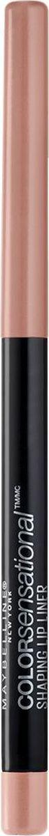 Maybelline New York Карандаш для губ Color Sensational, оттенок 10, Деликатный Шепот maybelline карандаш для губ механический color sensational 8 оттенков оттенок 110 насыщенно винный