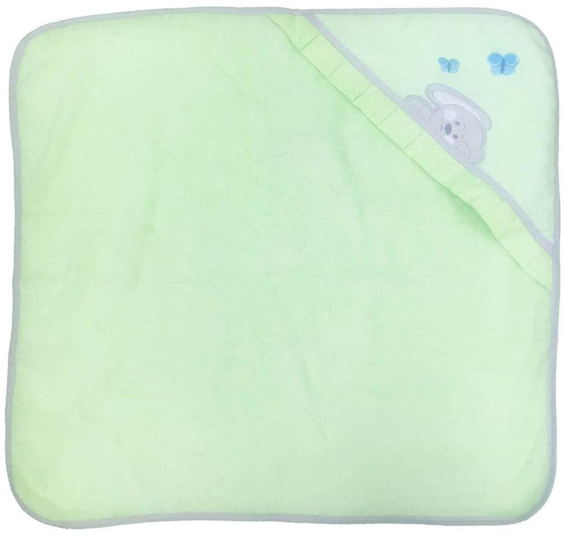где купить Polini Комплект для купания Зайки цвет зеленый 2 предмета дешево