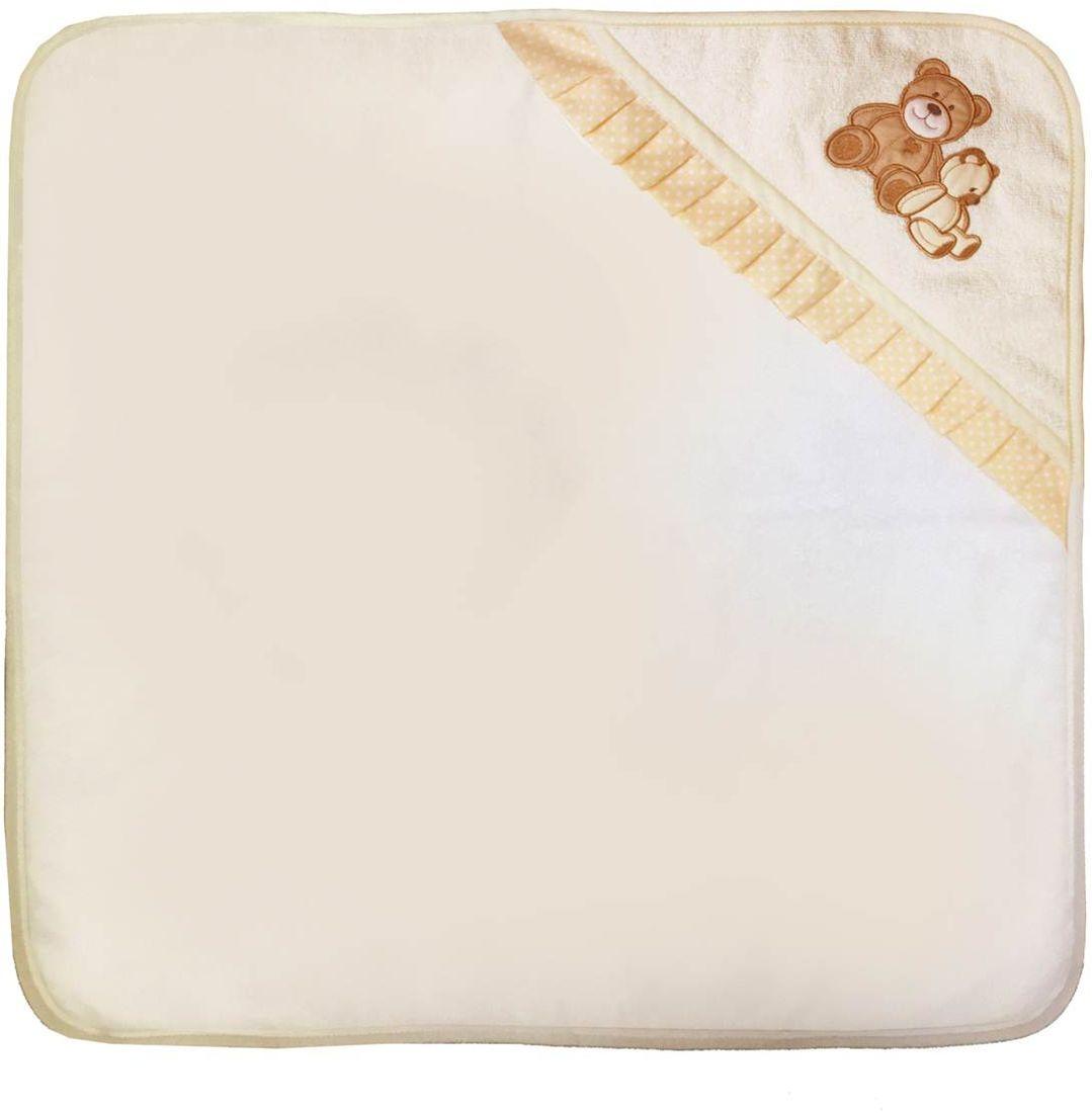 Polini Комплект для купания Плюшевые мишки цвет бежевый 2 предмета цена
