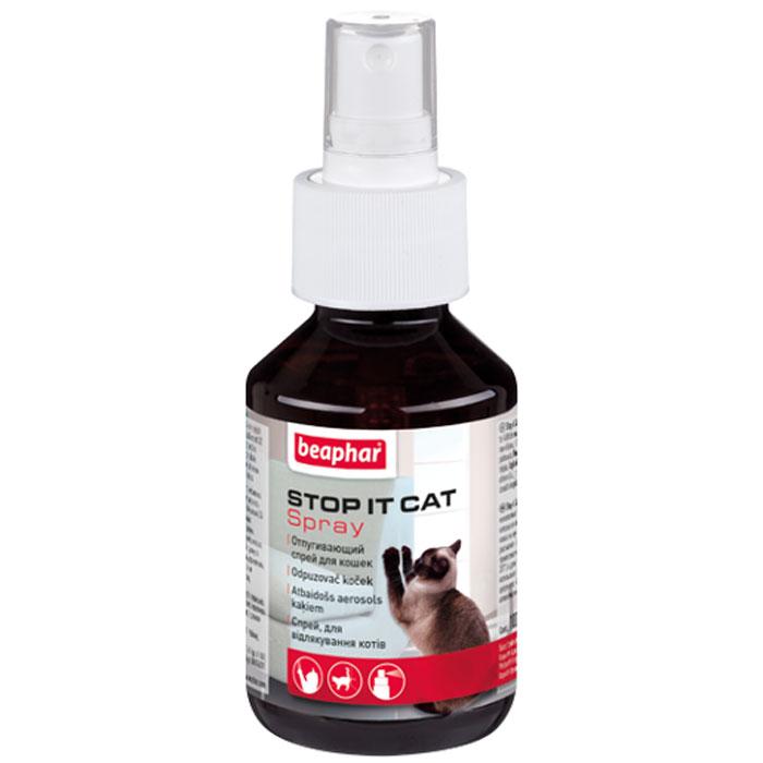 Спрей для кошек Beaphar Stop-it Cat, отпугивающий, 100 мл13207Спрей Beaphar Stop-it Cat предназначен отпугивания котов и кошек. Поможет вам отвадить кошек от мест, где их пребывание нежелательно. Надежно защитит предметы обихода от порчи или загрязнений кошками. Способ применения: обработайте места, где присутствие кошек нежелательно (с расстояния 30 см). Повторяйте каждые 24 часа, пока эти посещения не прекратятся. Состав: метилнонилкетон 14 г/л. Объем: 100 мл. Товар сертифицирован. Уважаемые клиенты! Обращаем ваше внимание на возможные изменения в дизайне упаковки. Качественные характеристики товара остаются неизменными. Поставка осуществляется в зависимости от наличия на складе.
