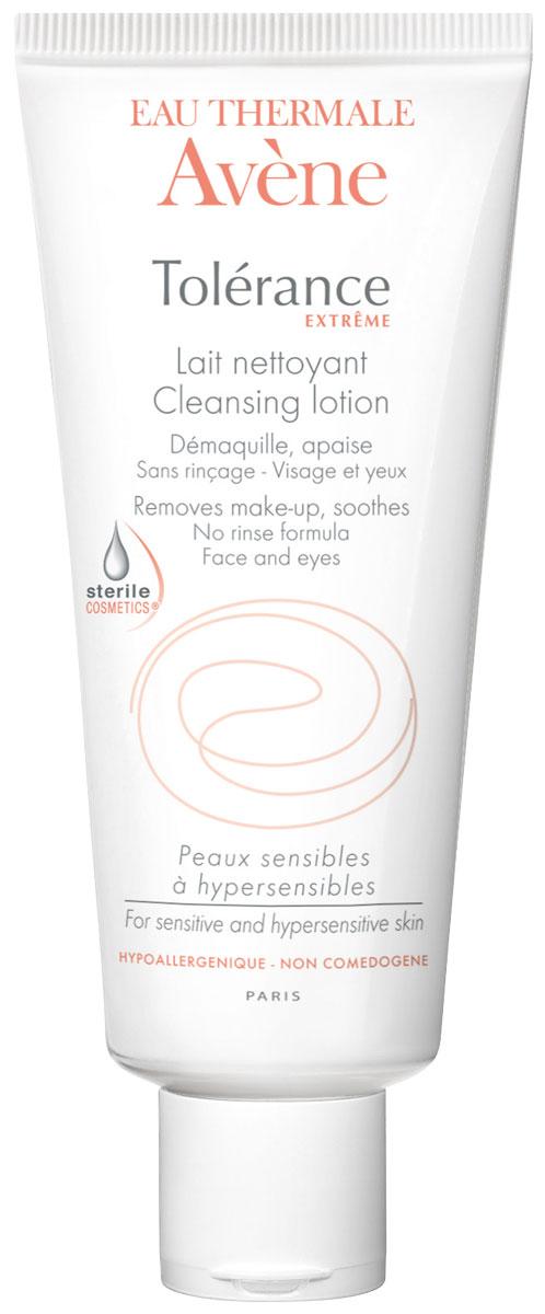Avene Tolerance ExtremeОчищающее молочко для сверхчувствительной кожи, не требующее смывания D. E. F. I. , 200 мл Avene