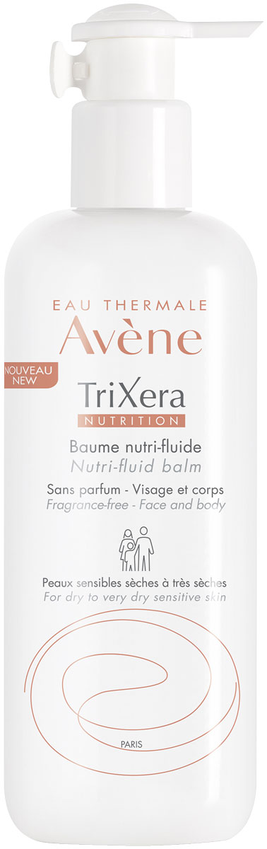 Avene Trixera Nutrition Легкий питательный бальзам, 400 мл trixera nutrition