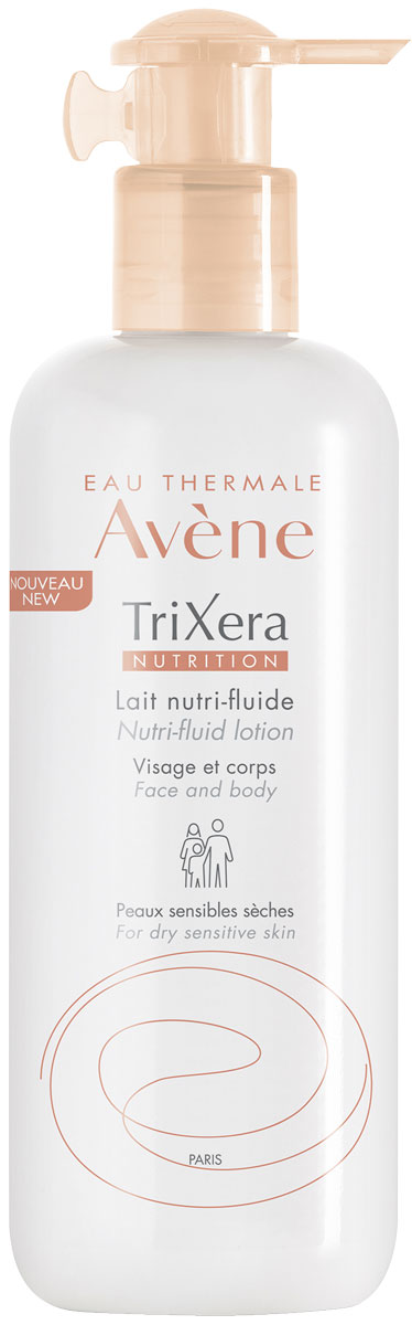 Avene Trixera Nutrition Легкое питательное молочко, 400 мл trixera nutrition