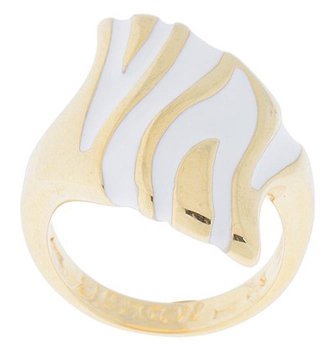 """Кольцо женское Jenavi """"Cosmo. Кэллус"""", цвет: золотой, белый. j567p0e0. Размер 17"""