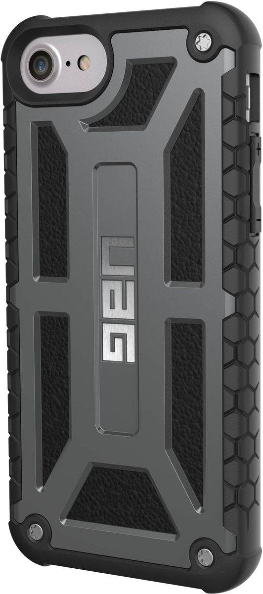 UAG Monarch чехол для Apple iPhone 8/7/6s, Dark Gray uag plasma чехол для apple iphone 8 7 6s gray