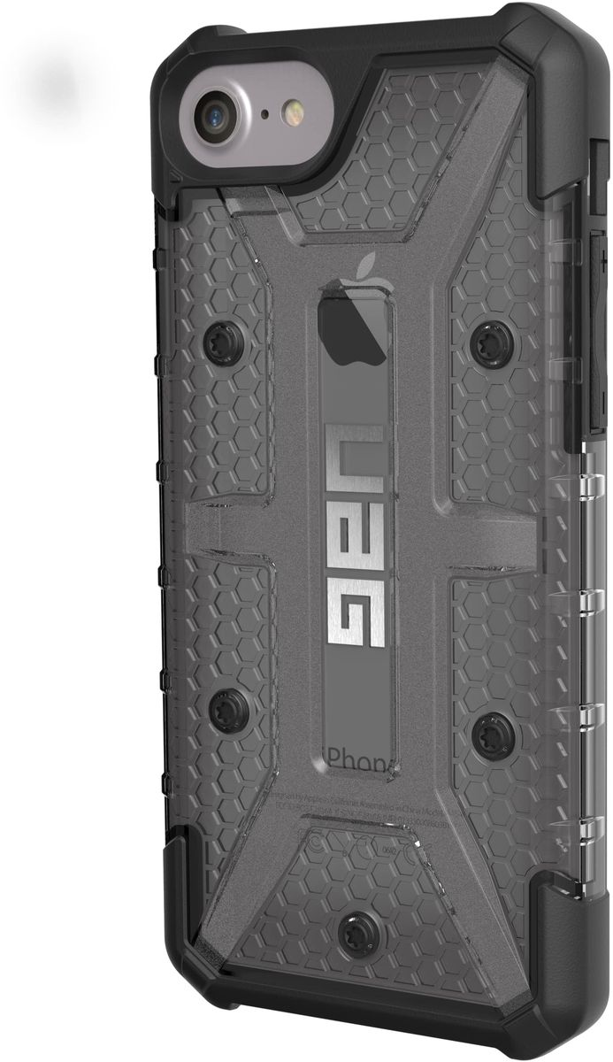 UAG Plasma чехол для Apple iPhone 8/7/6s Plus, Dark Gray