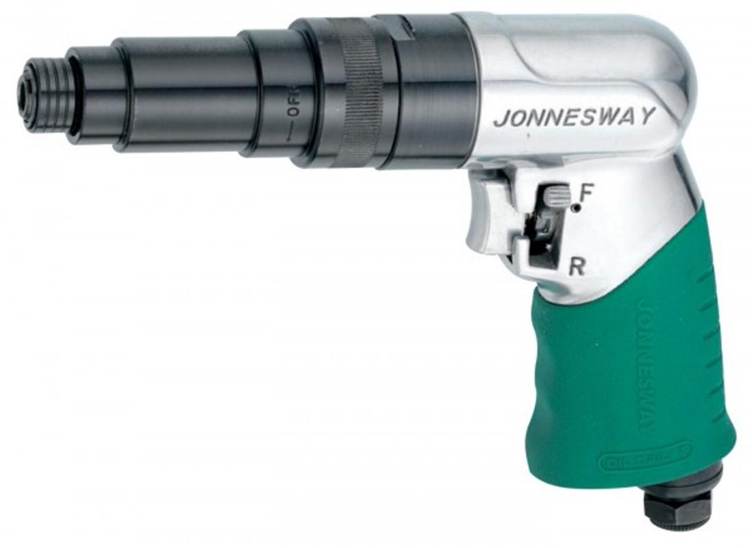 Отвертка пневматическая Jonnesway, 800 об/мин отвертка с реверсом jettools h7 7 1414
