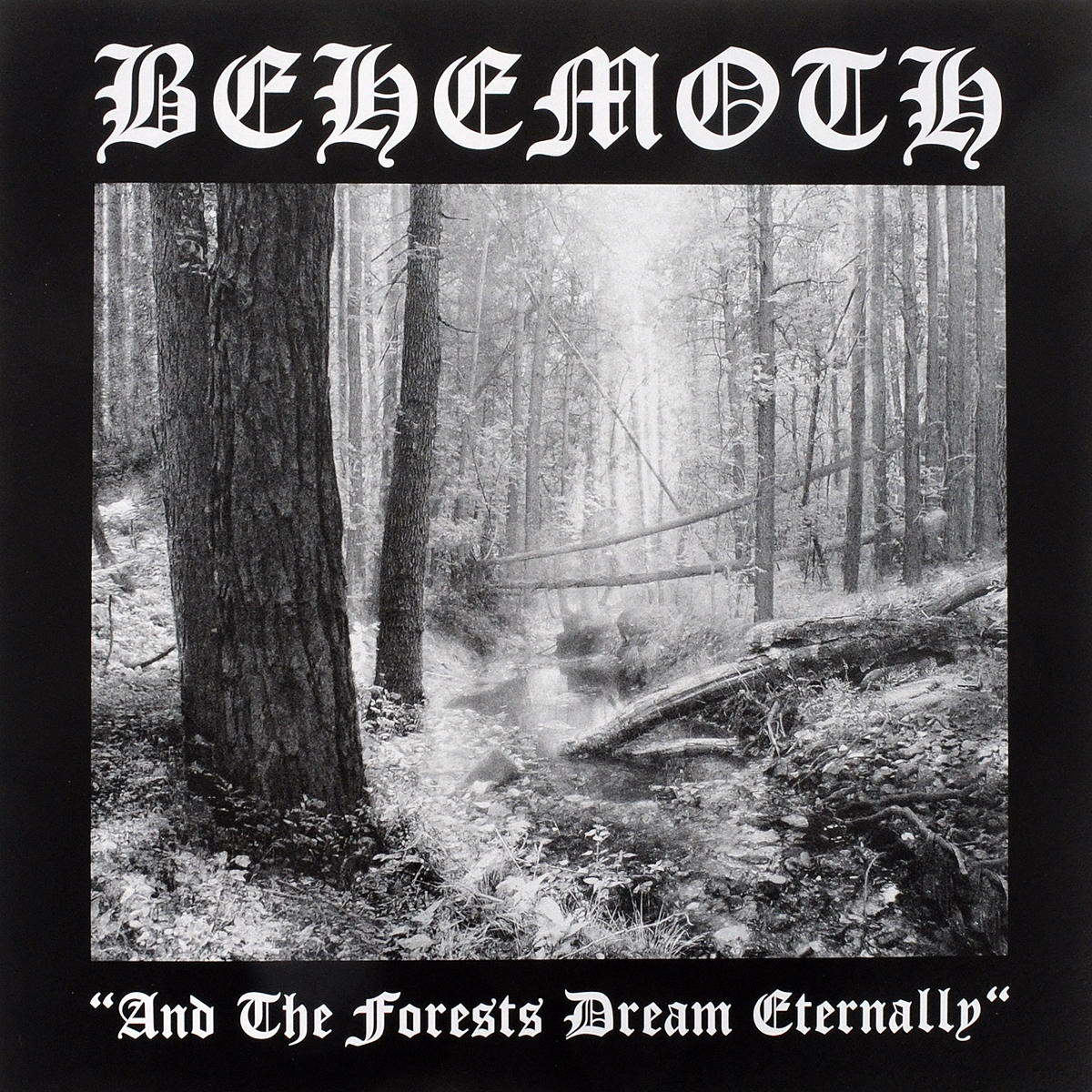 Behemoth Behemoth. And The Forests Dream Eternally (LP) behemoth behemoth pandemonic incantations