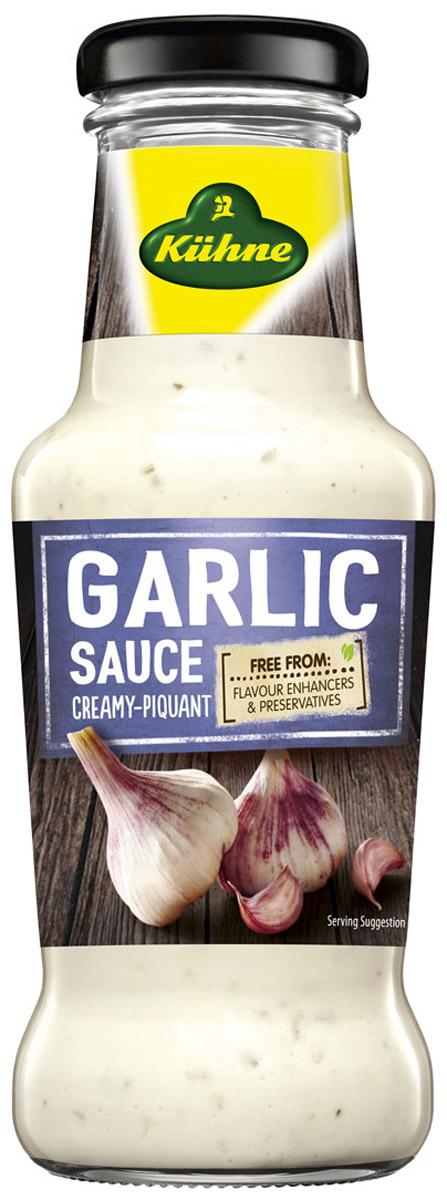 Kuhne Spicy Sauce Garlic соус чесночный, 250 мл соус чесночный