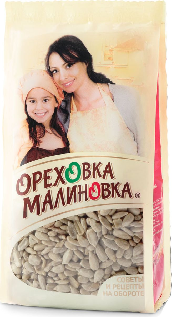 Ореховка-Малиновка семенаподсолнечника жареные, 190 г
