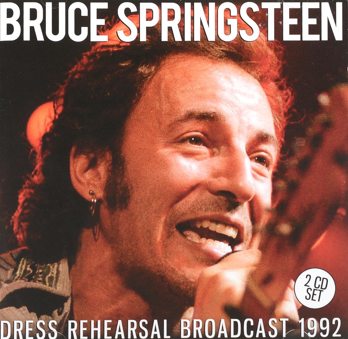 Брюс Спрингстин Bruce Springsteen. Dress Rehearsal Broadcast 1992 (2 CD) брюс спрингстин bruce springsteen passaic night 1978 the classic new jersey broadcast volume two 2 lp