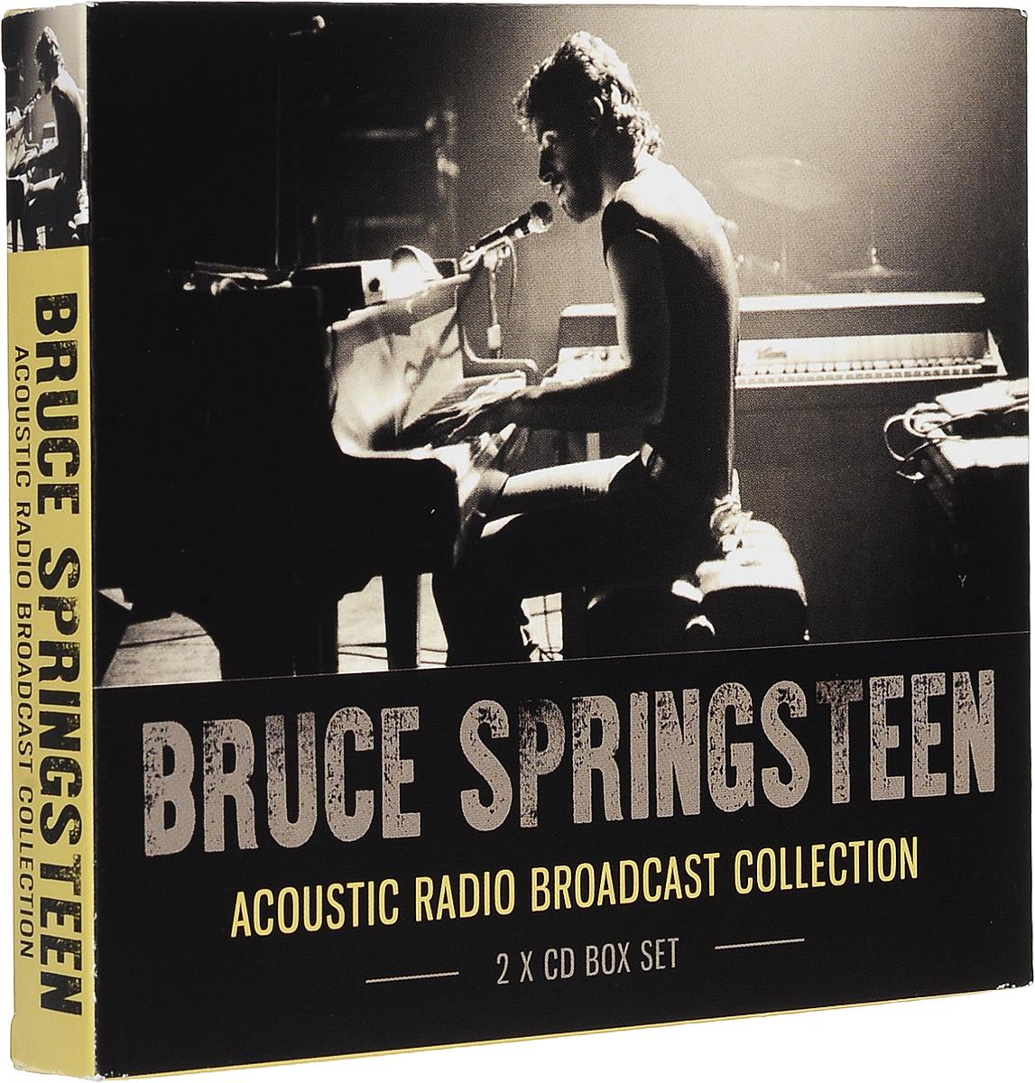 Брюс Спрингстин Bruce Springsteen. Acoustic Radio Broadcast Collection (2 CD) брюс спрингстин bruce springsteen passaic night 1978 the classic new jersey broadcast volume two 2 lp