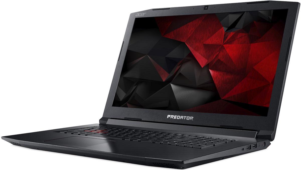 17.3 Игровой ноутбук Acer Predator Helios 300 PH317-52 NH.Q3DER.010, черный ноутбук acer predator helios 300 ph317 52 51ac 17 3 1920x1080 intel core i5 8300h 1 tb 8gb bluetooth 5 0 nvidia geforce gtx 1060 6144 мб черный windows 10 home nh q3der 010