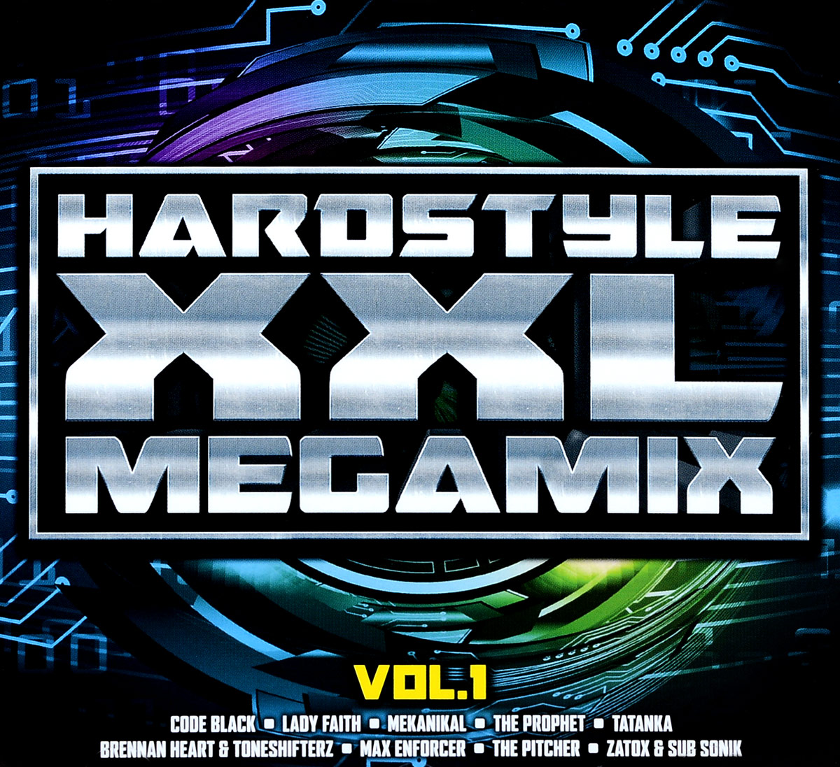 Tatanka,Toneshifterz,Adaro,Deetox,Ignition,Dailucia,Бреннан Харт,Девин Уайлд,Nightfall,Max Enforcer Hardstyle XXL Megamix. Vol. 1 (2 CD) би 2 – prague metropolitan symphonic orchestra vol 2 cd