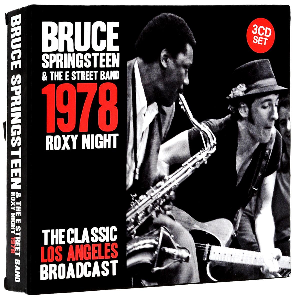 Брюс Спрингстин Bruce Springsteen. Roxy Night (3 CD) брюс спрингстин bruce springsteen born to run remastered