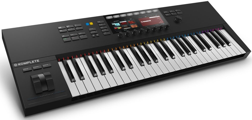 Native Instruments Komplete Kontrol S49 Mk2, Black MIDI-клавиатура native instruments komplete kontrol s25